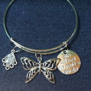 Jewelry - Homemade expandable bangles
